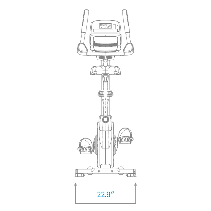 gx 4 4 pro exercise bike