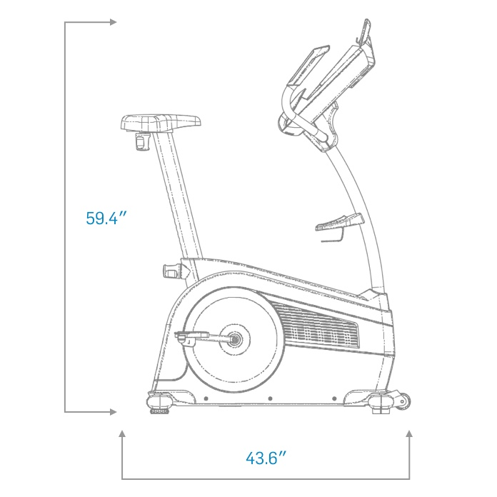 nordictrack gx 4 6 pro ifit exercise bike