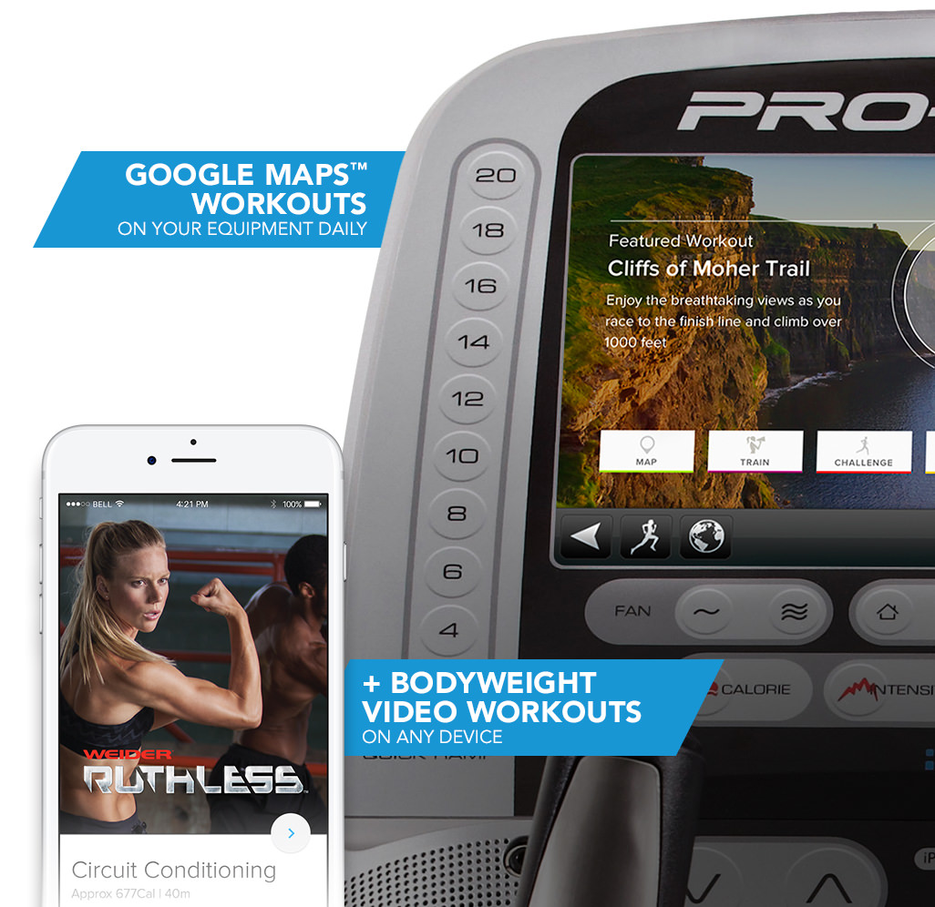 Get your workout on any device