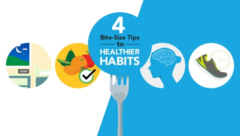 Thumbnail image for Four Bite-Size Tips to Healthier Habits