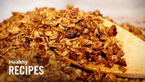 Thumbnail image for Tasty and Healthy Pumpkin Granola