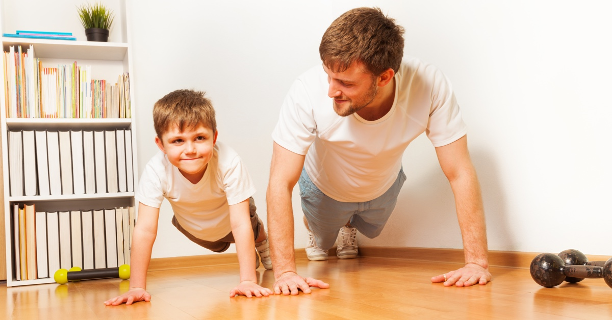 featured image for HIIT Tabata With Dad This Father's Day
